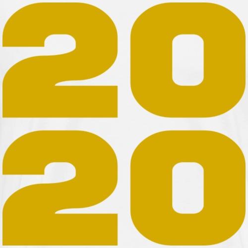2020 - L'année en or - T-shirt Premium Homme