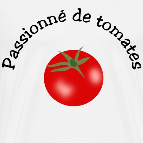 Tomate rouge - T-shirt Premium Homme
