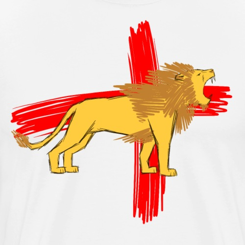 English Lion - Men's Premium T-Shirt