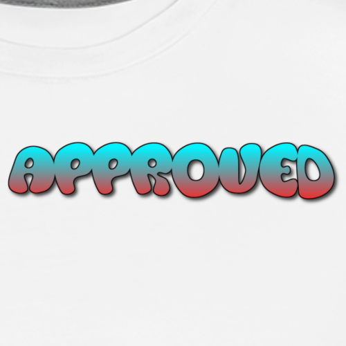 APPROVED BLUE-RED - Men's Premium T-Shirt