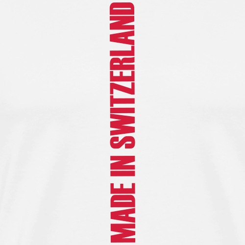 made in switzerland neu - Männer Premium T-Shirt