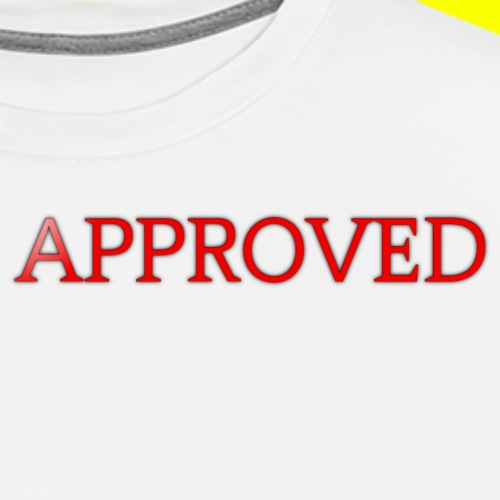 Red APPROVED - Men's Premium T-Shirt