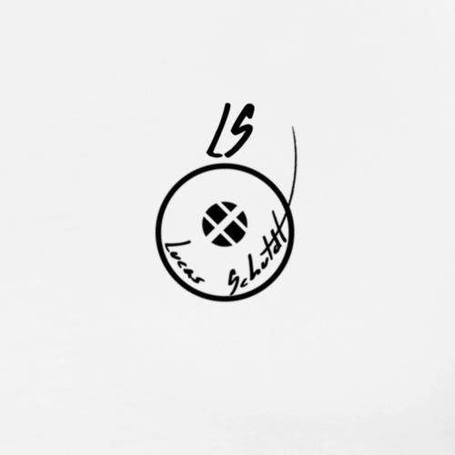 LS Logo (Lucas Schuldt) - Herre premium T-shirt