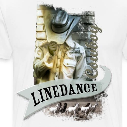 kl_linedance56 - Männer Premium T-Shirt