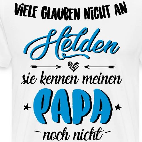 Papa Held - Männer Premium T-Shirt