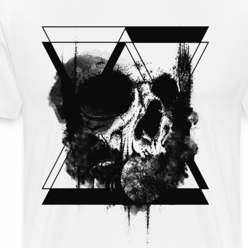 hourglass Skull - Maglietta Premium da uomo