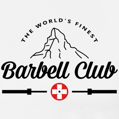 The world's finest Barbell Club _black - Männer Premium T-Shirt