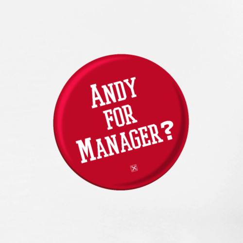 Andy for manager? - Camiseta premium hombre