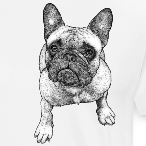 French Bulldog - T-shirt Premium Homme