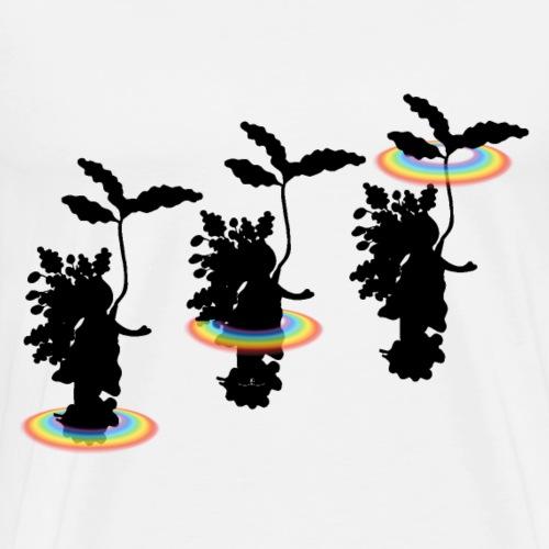 Coma- Blättertanz - Männer Premium T-Shirt