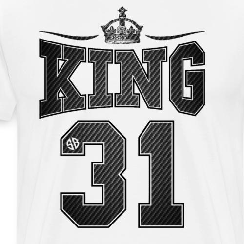 King Carbon Partnerlook - Männer Premium T-Shirt