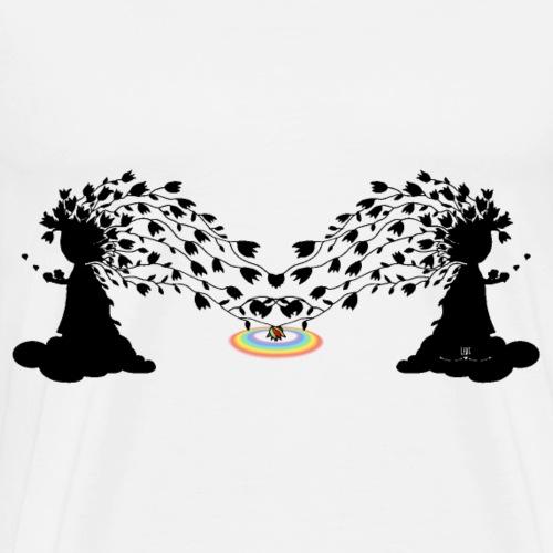 Ille - Blumenzauber - Männer Premium T-Shirt