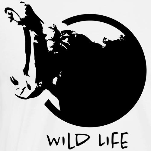 Wild Life - HIPPO - T-shirt Premium Homme