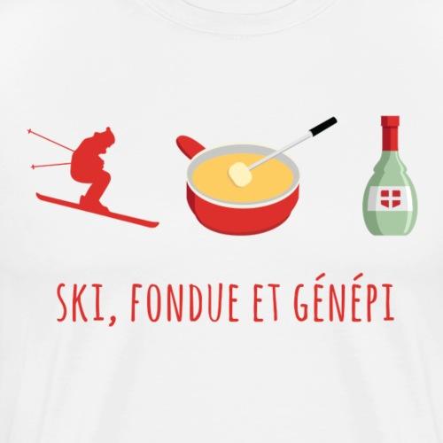 Ski, Foudue et Genepi 2 - T-shirt Premium Homme