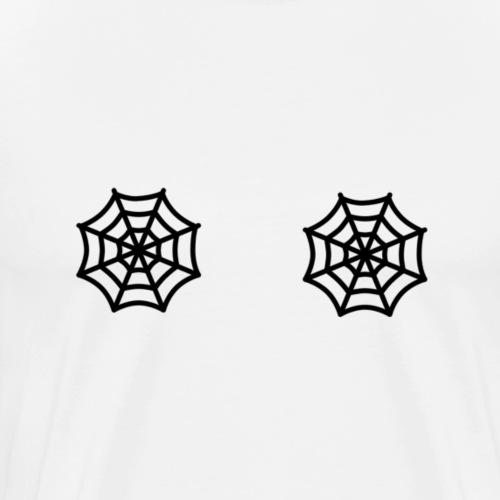 telaraña negro - Camiseta premium hombre