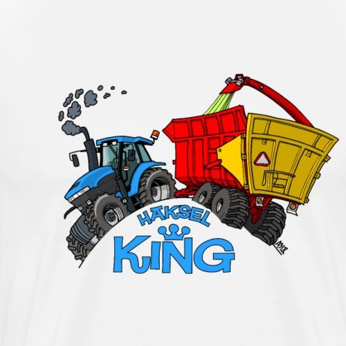 NewHolland8670 Haksel KING - Mannen Premium T-shirt