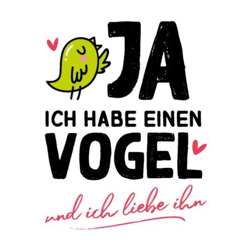 Vogel grüner Wellensittich lustige Sprüche Spruch - Männer Premium T-Shirt