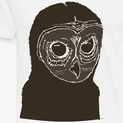 Owl Tee - Men's Premium T-Shirt