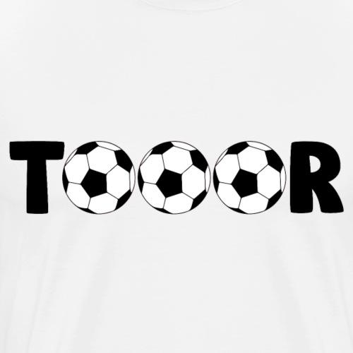 Fußball Tor schießen Fanartikel für Fußballfans - Männer Premium T-Shirt