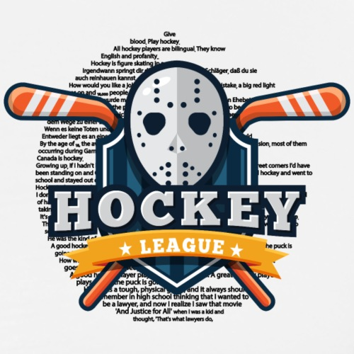 Hockey - MrMuri - Männer Premium T-Shirt