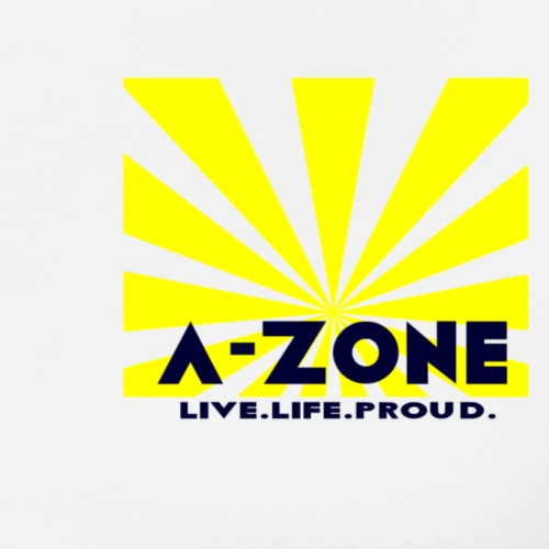 A Zone raylive life proud, - Men's Premium T-Shirt