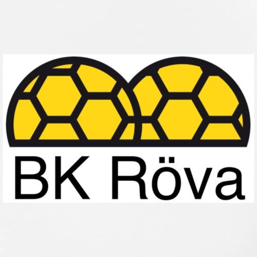 Bk Röva logo - Premium-T-shirt herr