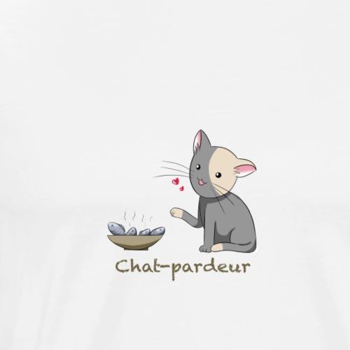 Chat-pardeur - T-shirt Premium Homme