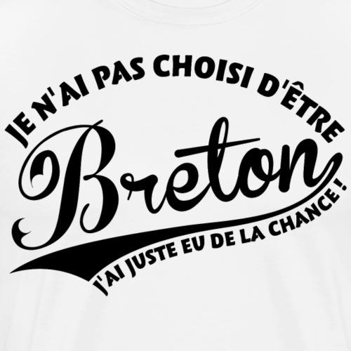 Breton Chanceux - T-shirt Premium Homme