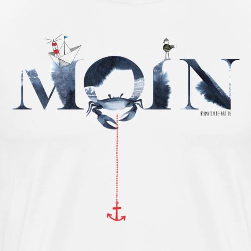 Moin Brush - Männer Premium T-Shirt