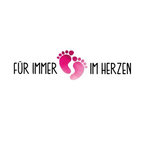 verstorbene Tochter Liebe Herz Trauer Abschied Tod - Männer Premium T-Shirt