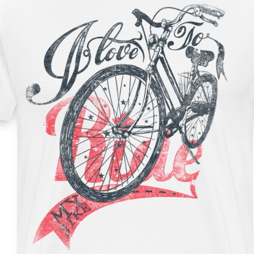 I love to Ride - Männer Premium T-Shirt