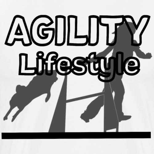 Agility Agilityhund Agilityspruch agility - Männer Premium T-Shirt