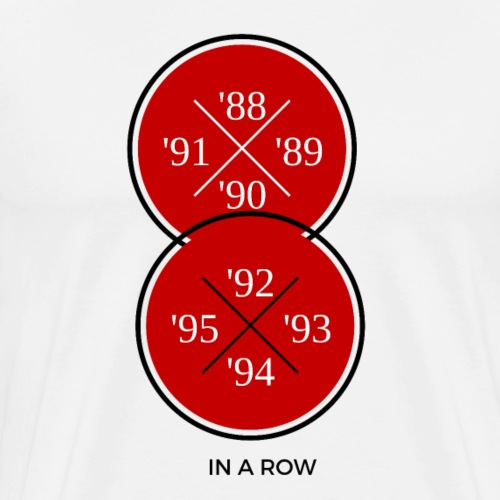 8 IN A ROW - Men's Premium T-Shirt