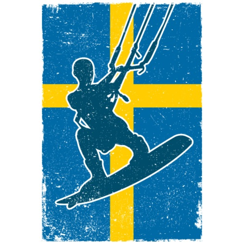 Kitesurfer Sweden - Männer Premium T-Shirt