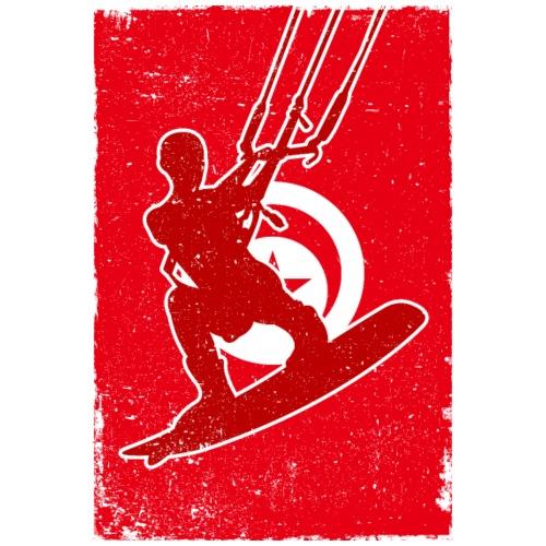 Kitesurfer Tunisia - Männer Premium T-Shirt