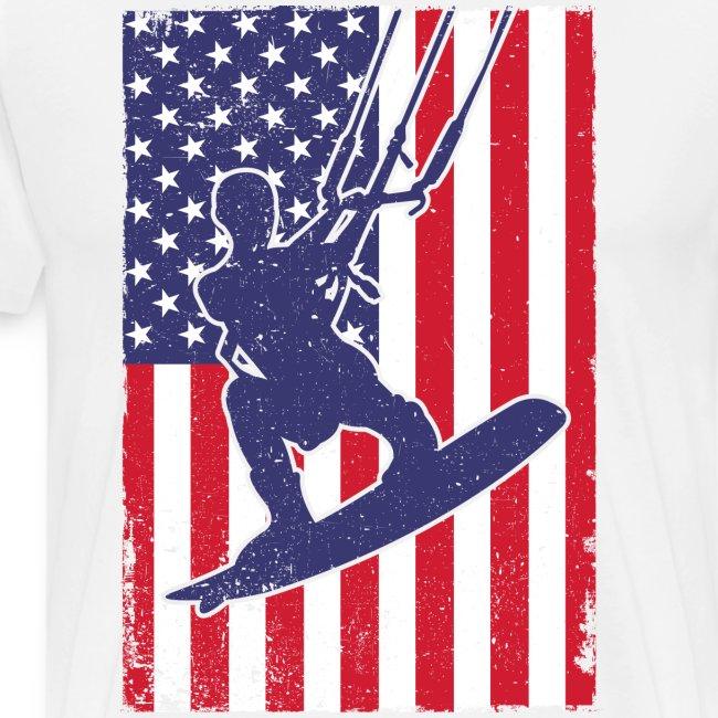 Kitesurfer USA