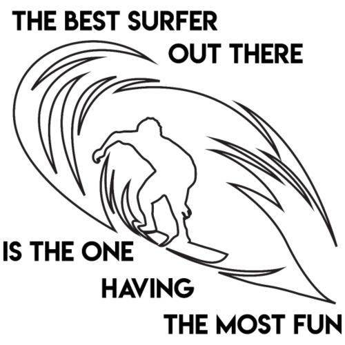 Waveriding, Cooler Wellenreiter - Best Surfer - Männer Premium T-Shirt