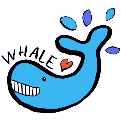 Classic whale! - Men's Premium T-Shirt