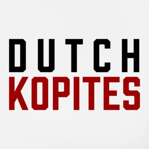 Dutch Kopites - Mannen Premium T-shirt