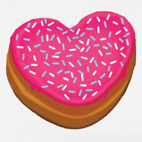 Donitsi - donut - Miesten premium t-paita