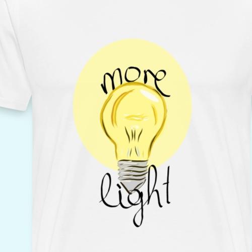 More Light - Männer Premium T-Shirt