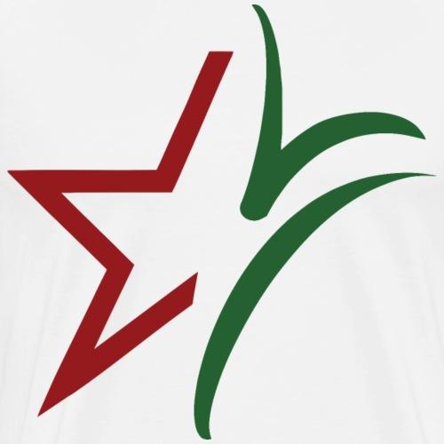 Logo MVB - Mannen Premium T-shirt