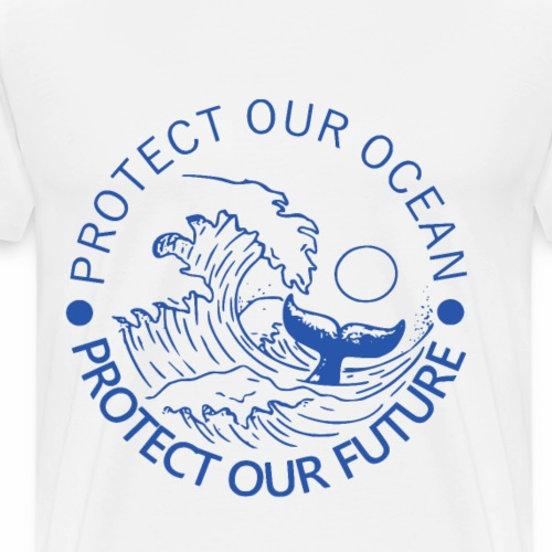 Protect our Ocean - Männer Premium T-Shirt