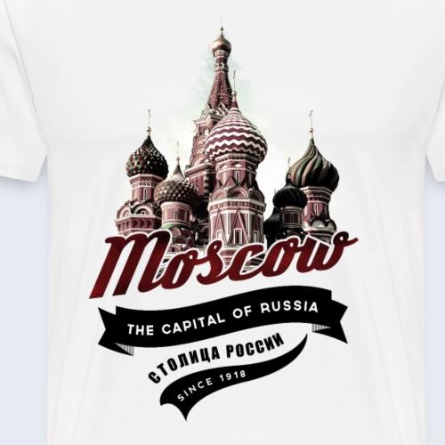 moscow shirt en png - Men's Premium T-Shirt