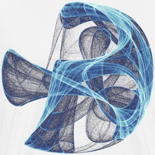 Aquarell Kunstgrafik Gemälde Bild Chaos 13834 ice