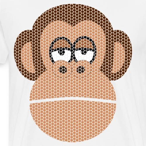 DOTS Affe - Männer Premium T-Shirt