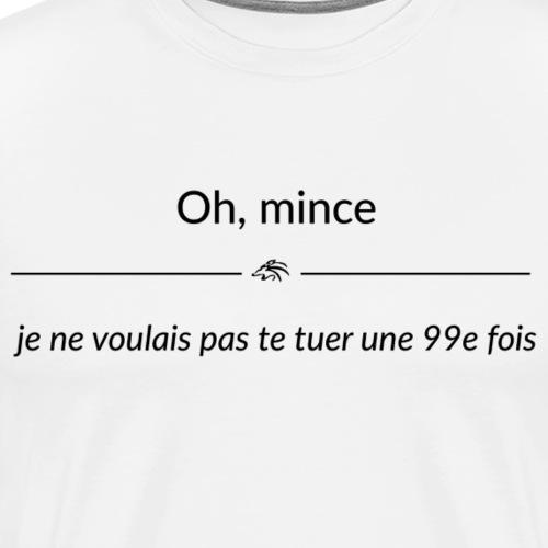 ohmince jenevoulaispastet - T-shirt Premium Homme