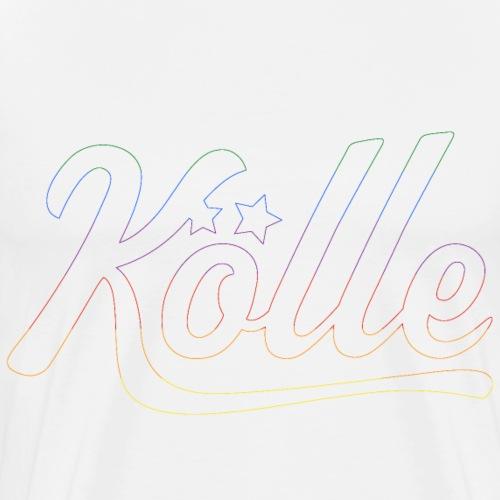 KÖLLE RAINBOW - Männer Premium T-Shirt
