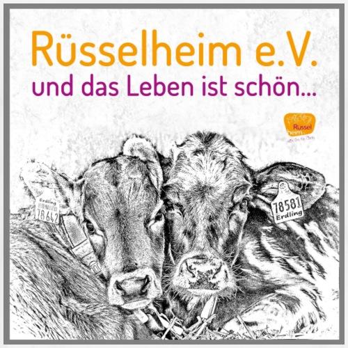 Das Leben ist schön mit Rüsselheim e.V. - Männer Premium T-Shirt