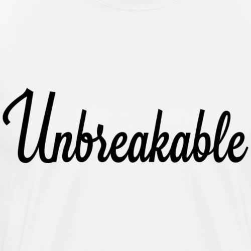 Unbreakable Signature - T-shirt Premium Homme